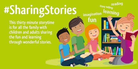 Sharing Stories Family Reading Group (Bolton le Sands) #LancsLibRG tickets