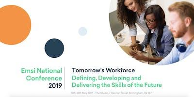 Emsi National Conference 2019 - Tomorrow\
