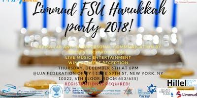Limmud FSU style Hanukkah party