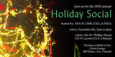 Planners' Holiday Social 2018