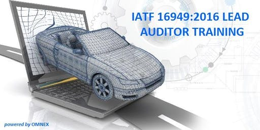 IATF 16949:2016 LEAD AUDITOR TRAINING, ENGLISH