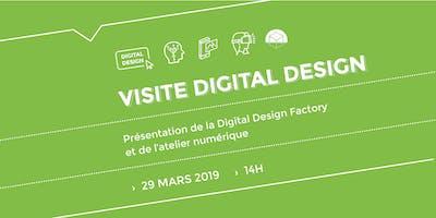 Visite de la Digital Design Factory - 29 mars 2019