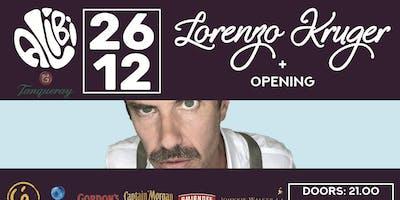 The Alibi presents: Lorenzo Kruger