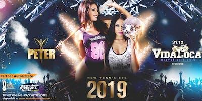 Capodanno 2019 Peter Pan Riccione Vida Loca Party Ticket Pacchetti Hotel