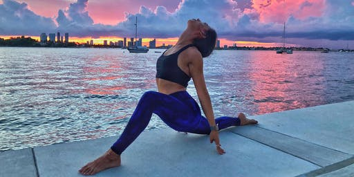 Sunset Yoga at Southgate Tower's Pool Deck