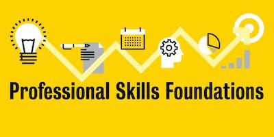Professional Skills Foundations: Introductory Workshop (February)