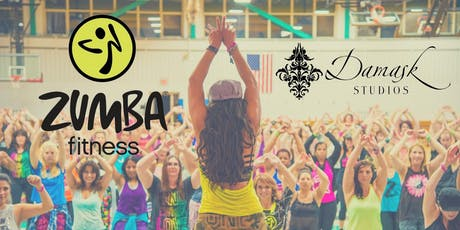 Zumba Fitness - $12 drop in @ Damask tickets