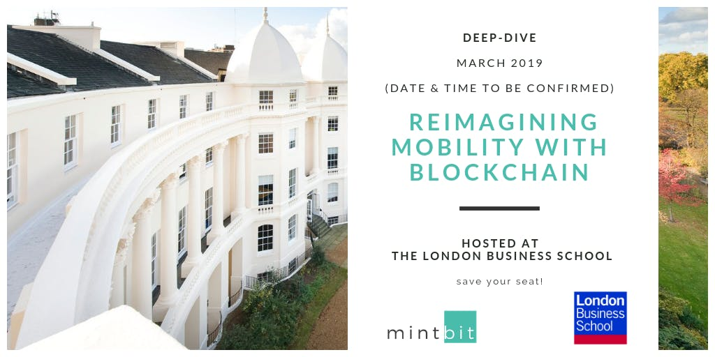 Deep-Dive: Reimagining Mobility with Blockchain