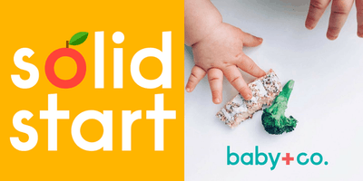 Solid Start Class | Navigating the hows, whens and whats of starting your baby on solid food.