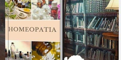 Curso livre Homeopatia ingressos