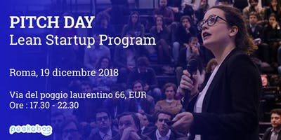 Pitch Day Lean Startup Program Roma - Peekaboo