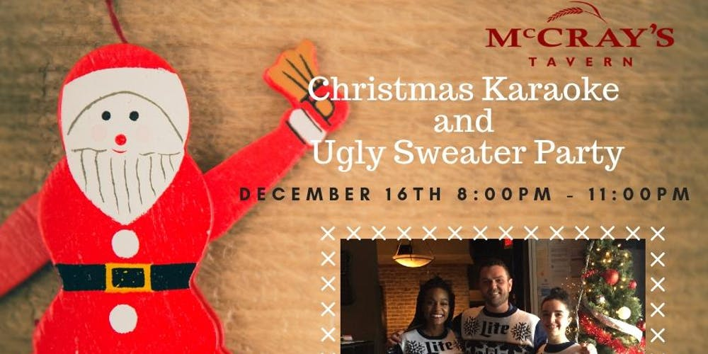 Christmas Karaoke and Ugly Sweater Party Tickets, Sun, Dec 16, 2018 ...