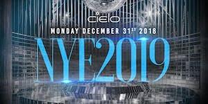 "12/31- ""NYE 2019"" PARTY @ CIELO -5 HR OPEN BAR -..."