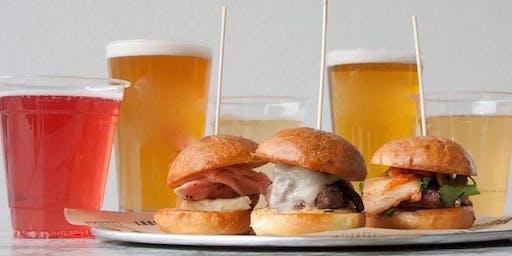 Burger & Local Beer Pairing at BGR Sugar House with Shades Brewing