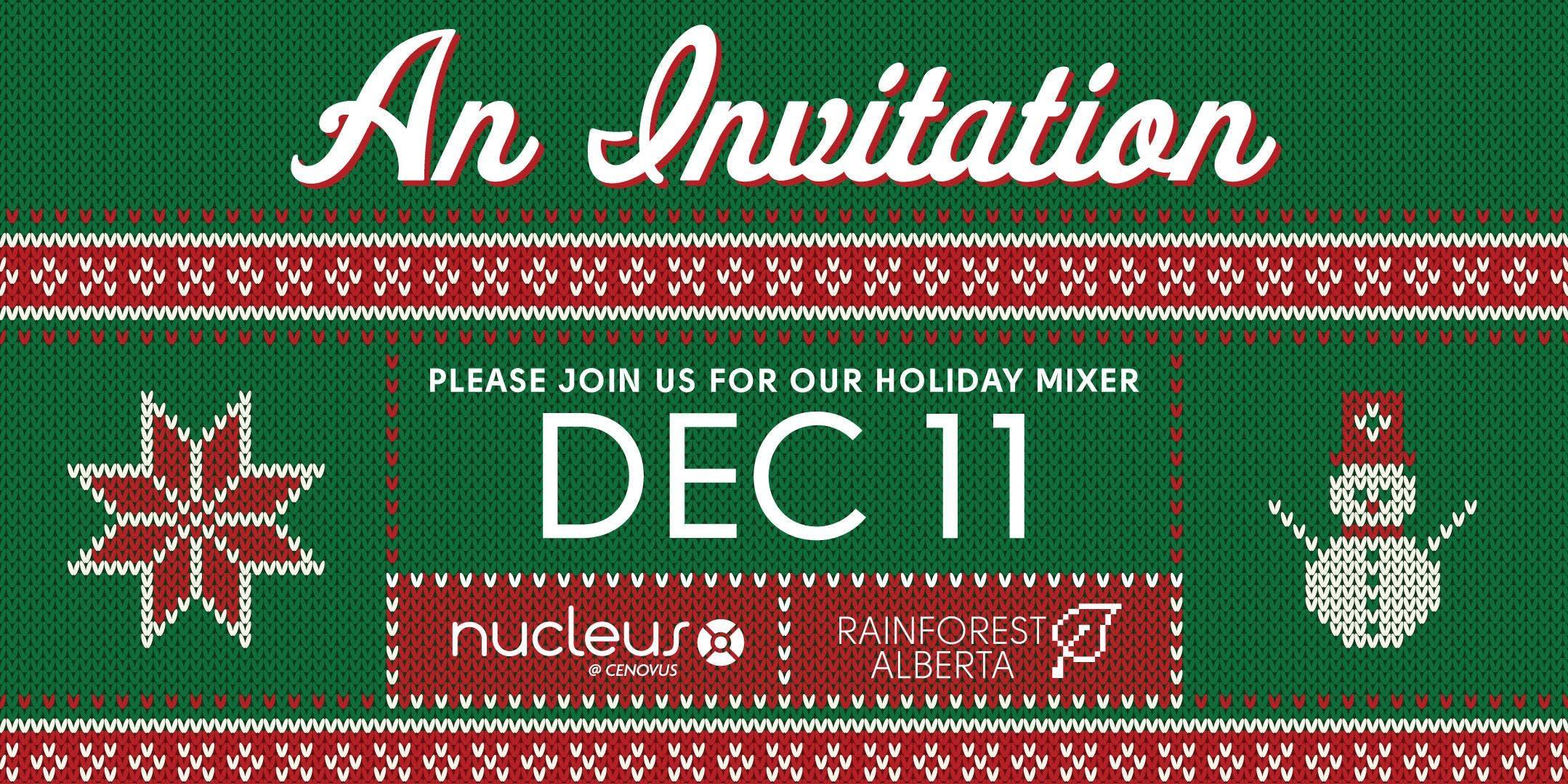 Nucleus & Rainforest AB Holiday Mixer
