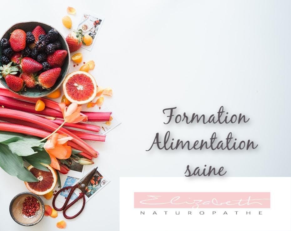 Formation Alimentation saine
