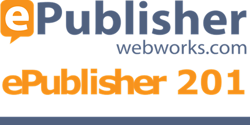 ePublisher 201 Training