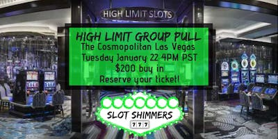 Slot Shimmers Las Vegas High Limit Group Pull
