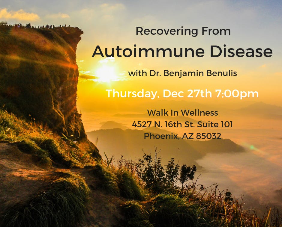 Recovering from Autoimmune Disease