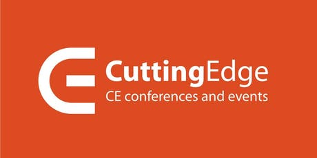 27th Cutting Edge: CE conferences and events - August 21 - 24, 2019 tickets