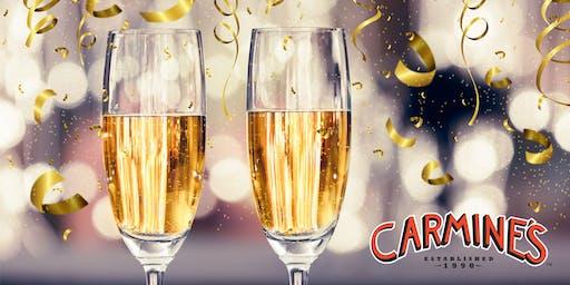 Celebrate NYE 2020 at Carmine's Las Vegas