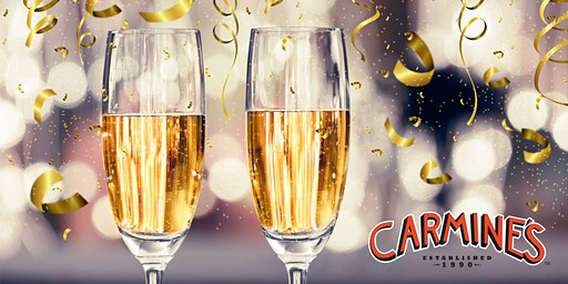 Celebrate NYE 2020 at Carmine's Las Vegas