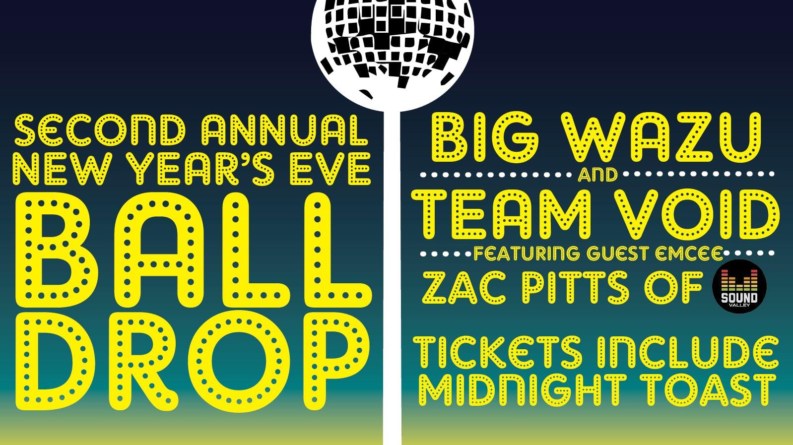 Dayton's Rockin NYE Ball Drop with Big Wazu,