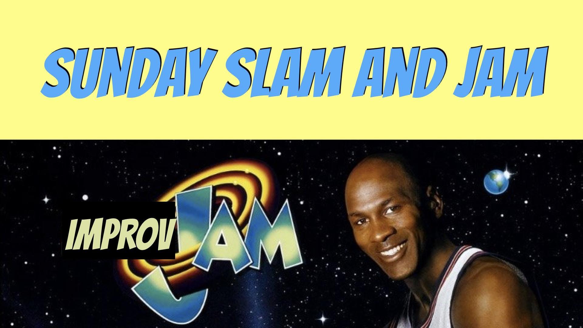 Sunday Slam and Jam: Improv Comedy