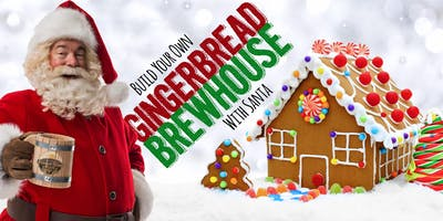 Gingerbread Brewhouse with Santa