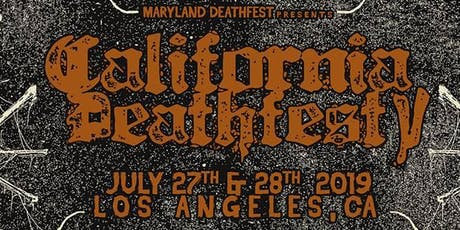 California Deathfest 2019 tickets