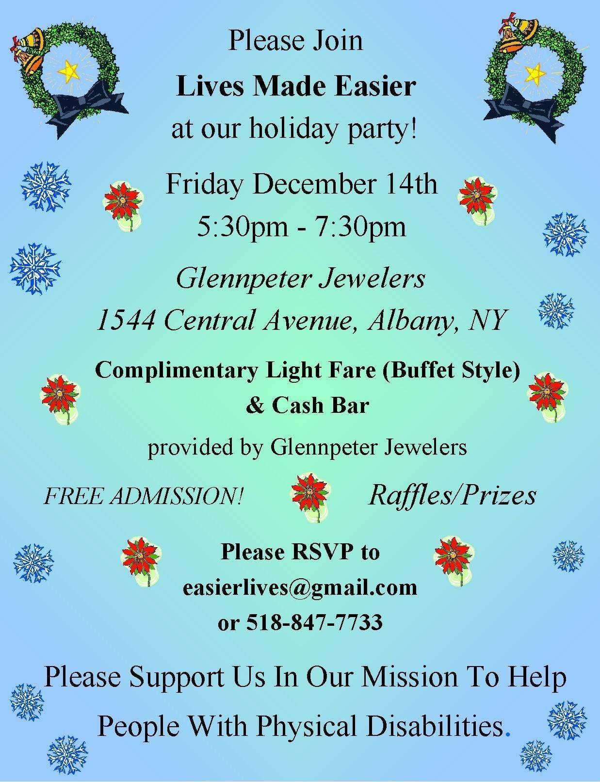 Lives Made Easier Holiday Party