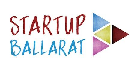 StartUp Ballarat MeetUp - Insights from Successful Start Ups (RateIt and Kapiche) tickets