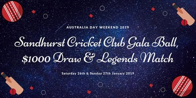 Sandhurst Cricket Club Gala Ball Weekend