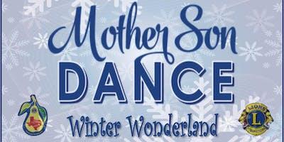 Mother & Son Winter Wonderland Dance