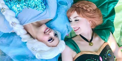 """Frozen"" Sisters Meet & Greet at Hunter Ice Festival"