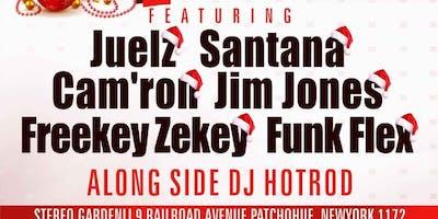 12/21 MERRY DIPMAS W/ Juelz Santana Camron jim jonez Funk Flex & More Dipset @ Stereo Garden