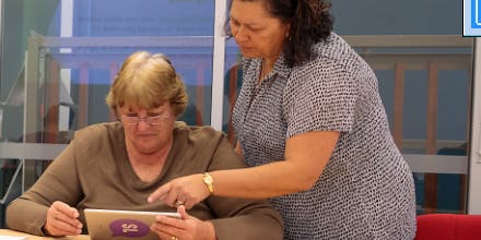 Digi Help Drop in Sessions- Hervey Bay Library