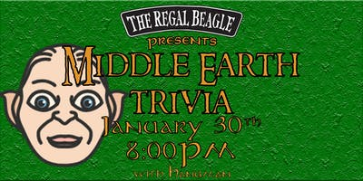 Middle Earth Trivia w/ Hangman