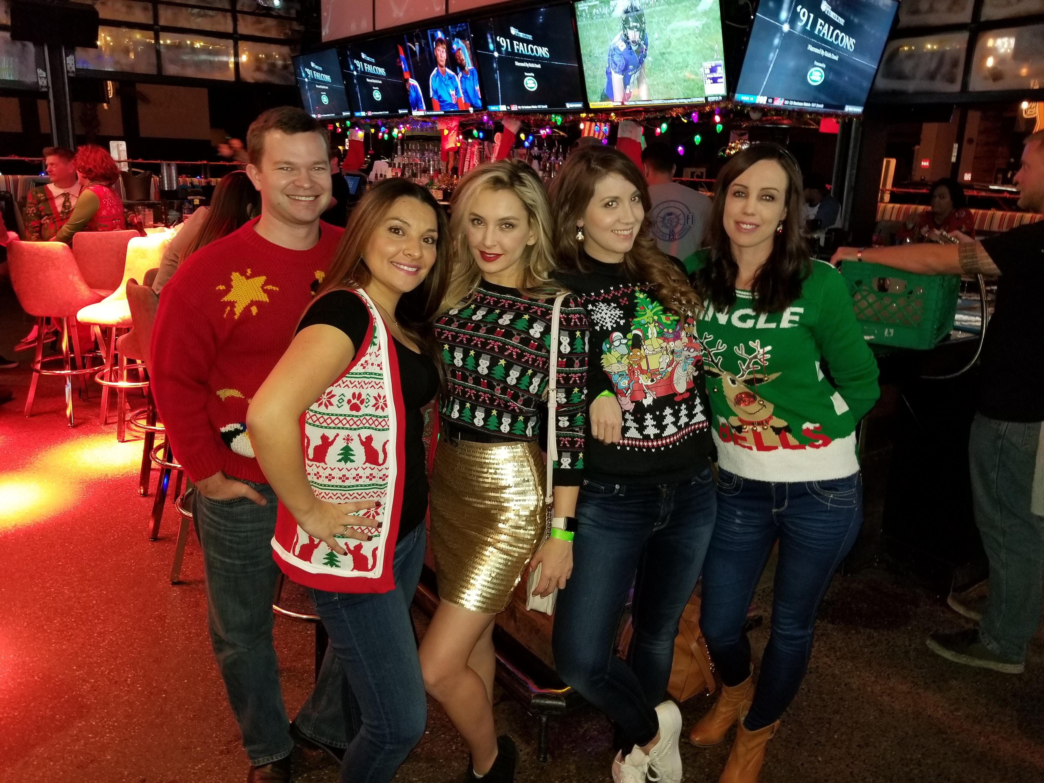 Ugly-Sweater Party.