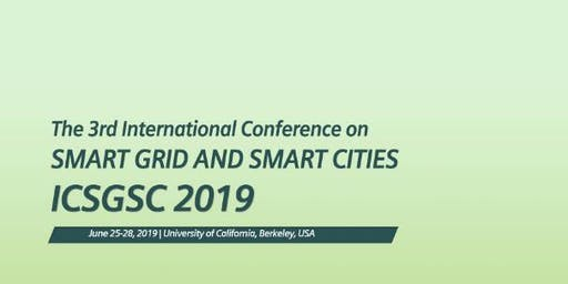 2019 3rd International Conference on Smart Grid and Smart Cities (ICSGSC 2019)