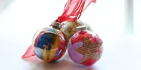Vision Board Ornament Workshop