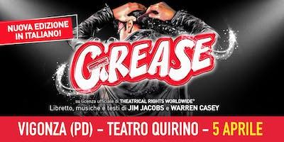 Grease, il Musical - Vigonza (PD) - 5 APRILE