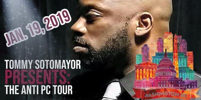 Tommy Sotomayor's Anti PC Tour- DC