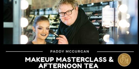 Afternoon Tea with Paddy McGurgan Make Up Masterclass  tickets