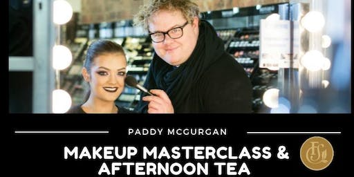 Afternoon Tea with Paddy McGurgan Make Up Masterclass