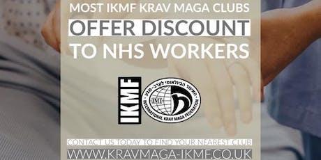 Krav Maga Ashby NHS Frontline Staff Free Voucher tickets