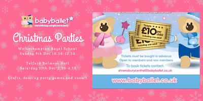 babyballet Christmas Party - Telford