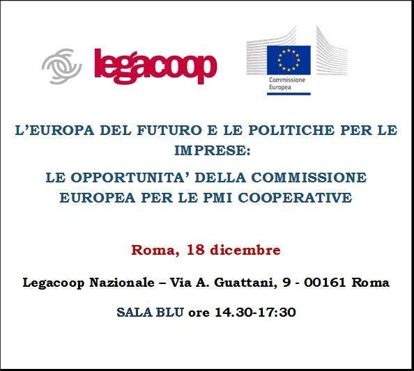 L'EUROPA DEL FUTURO E LE POLITICHE PER LE IMP