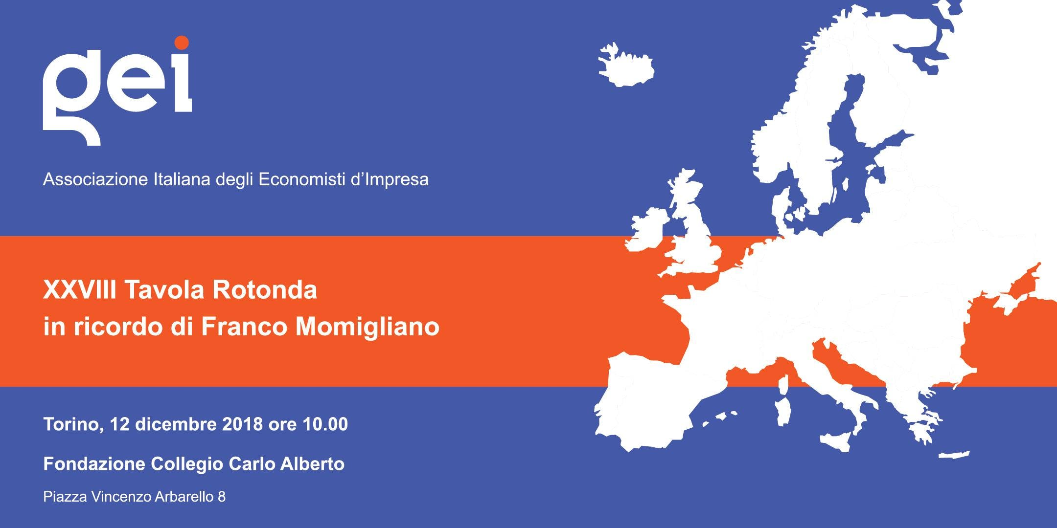 XXVIII Tavola Rotonda Franco Momigliano sulla