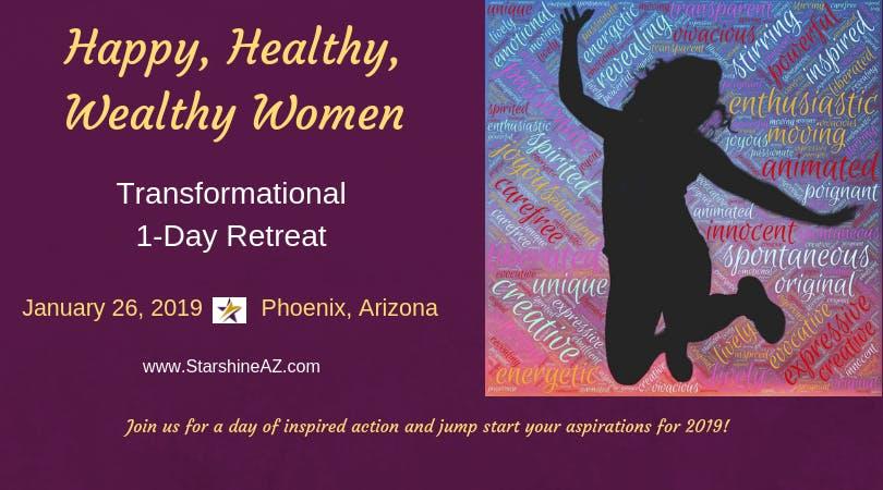Happy, Healthy, Wealthy Women's Retreat